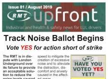 track noise ballot poster