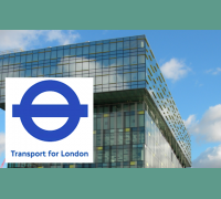 TfL logo and building